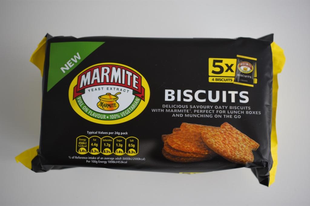 Marmite Biscuits