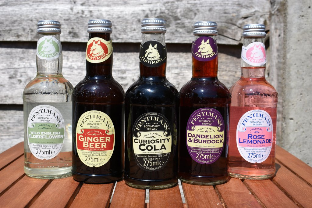 Fentimans Botanically Brewed Drinks